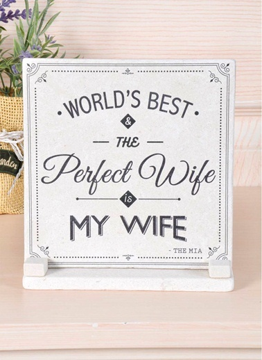 Plaket Mermer - Wife-The Mia